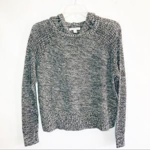 American Eagle Outfitters cropped hooded sweater.